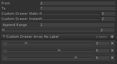 Custom Value Drawer Attribute for Unity with Odin Inspector