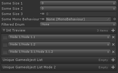 Value Dropdown Attribute for Unity with Odin Inspector